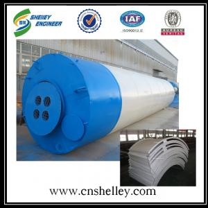 High safety assembly type 100t steel cement silo