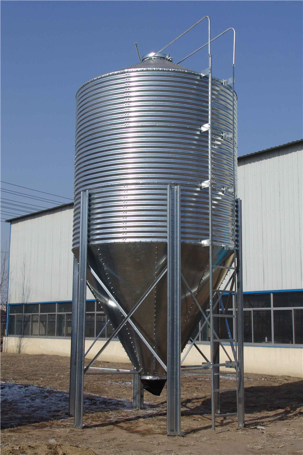 Hot Sale 30t Small Hopper Feed Storage Silo With Loading