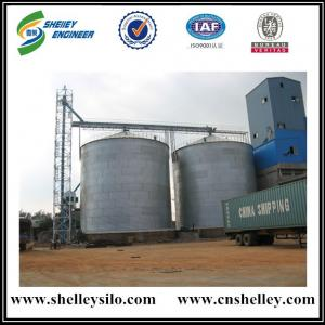 Great value 3000t galvanized mental cereal wheat silo