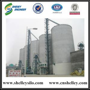 High safety 5000 tons assembly steel corn maize storage silo