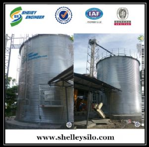 500t bolted assembly galvanized grain silo price for sale